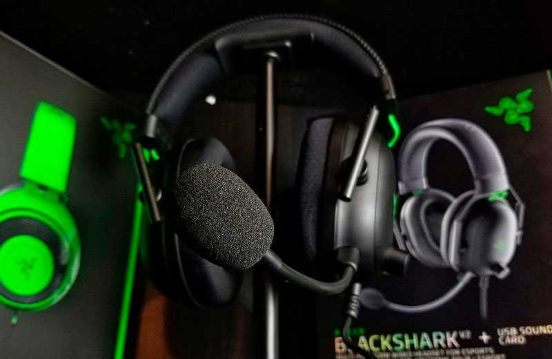 Razer Blackshark V2 дизайн