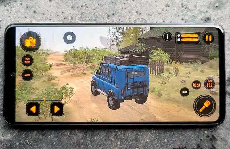 Samsung Galaxy M31s в играх