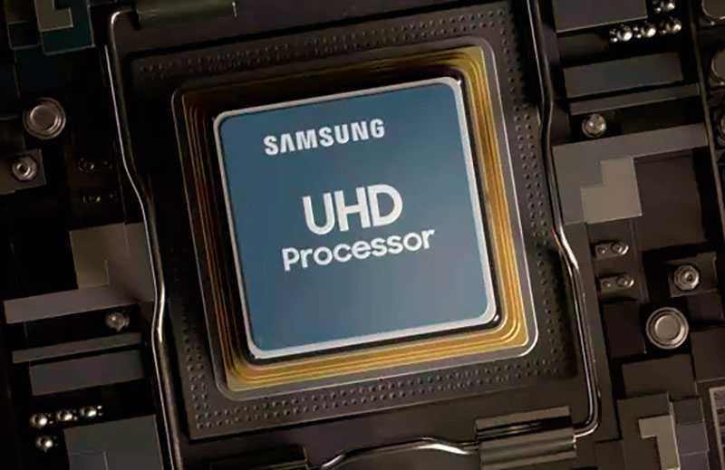 Процесор Samsung RU7100