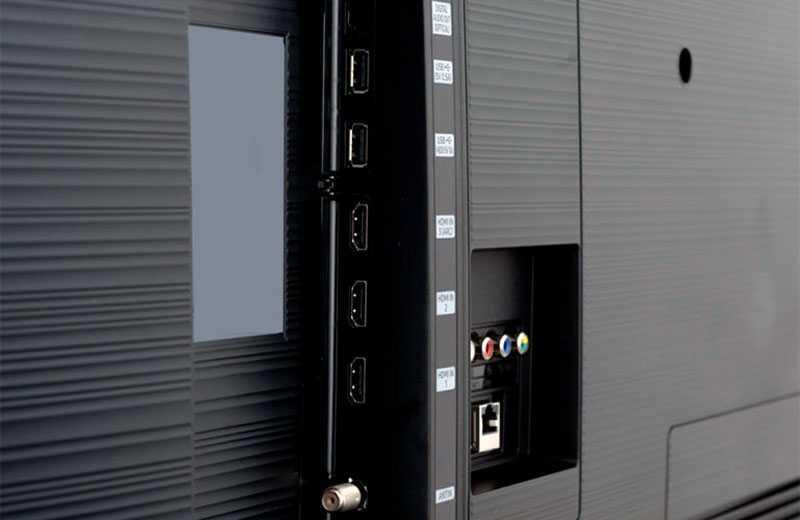 Samsung RU7100 порты и разъёмы