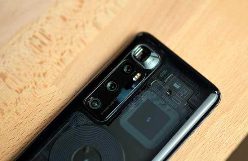 Xiaomi Mi 10 Ultra камера