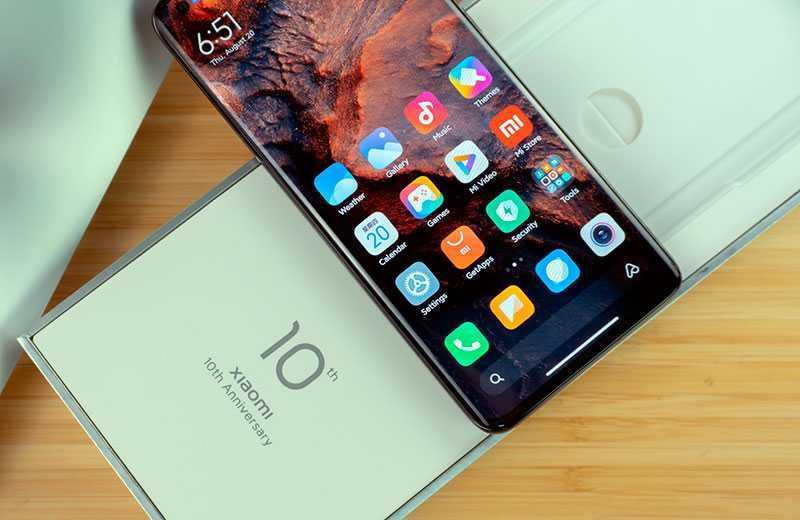 Xiaomi Mi 10 Ultra ОС