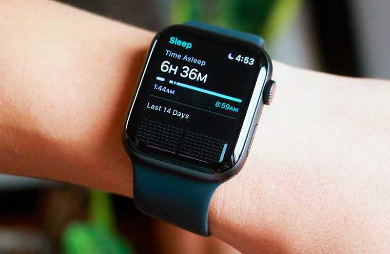 Apple Watch SE отслеживание сна