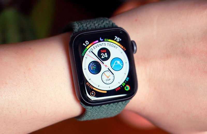 Apple Watch SE отслеживание