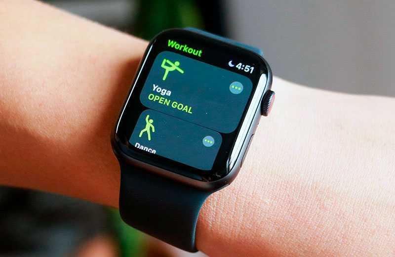 Apple Watch SE фитнес