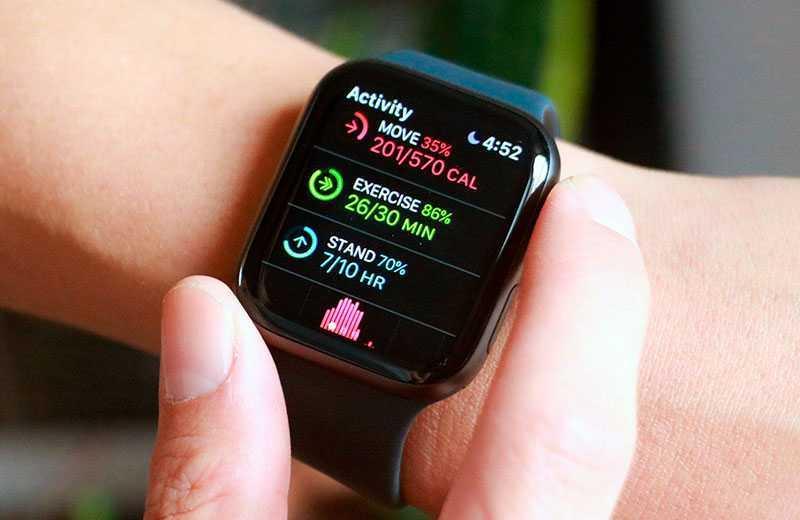 Apple Watch SE трнеровки
