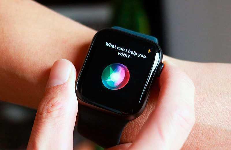 Apple Watch SE голосовой помощник