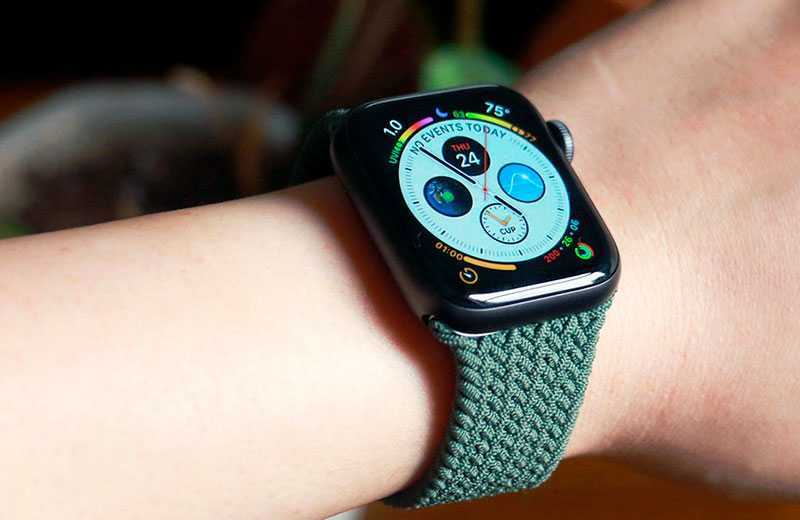 Apple Watch SE дизайн