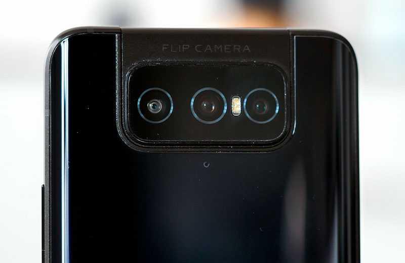 Asus Zenfone 7 Pro объективы