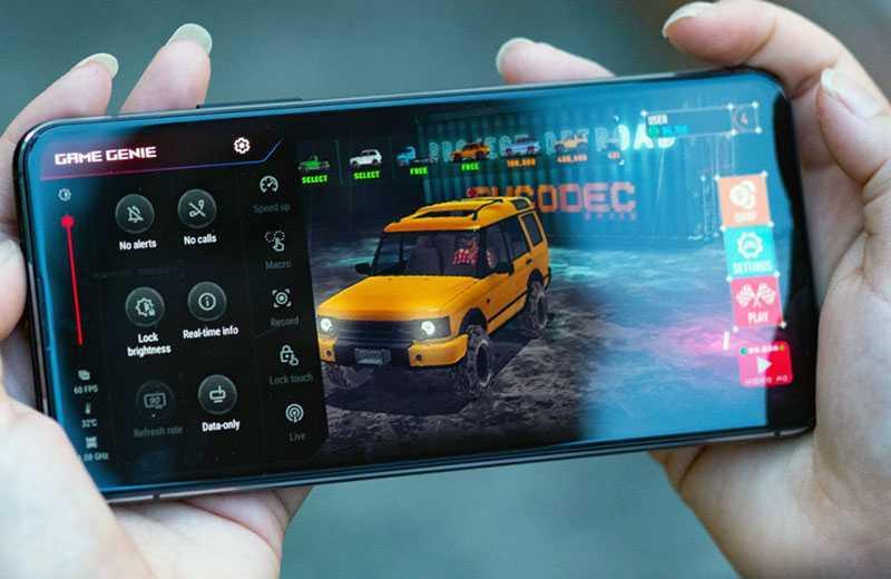 Asus Zenfone 7 Pro в играх