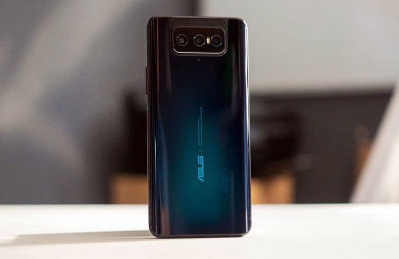 Asus Zenfone 7 Pro сзади