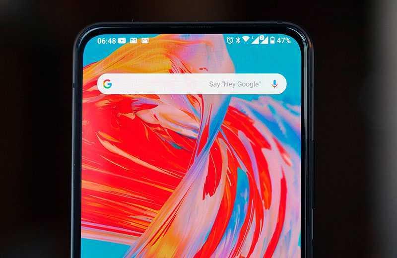 Asus Zenfone 7 Pro экран
