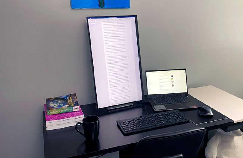 Dell S2721QS регулировки