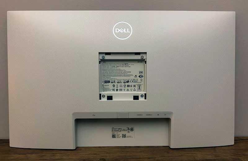 Монитор Dell S2721QS сзади