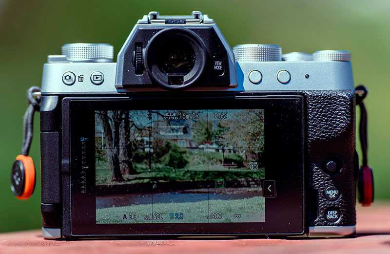 Fujifilm X-T200 автофокус