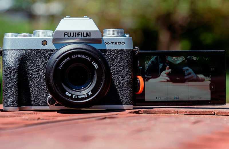 Тест Fujifilm X-T200