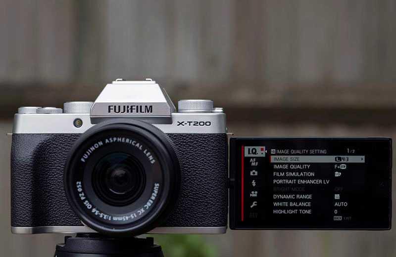 Fujifilm X-T200 настройка