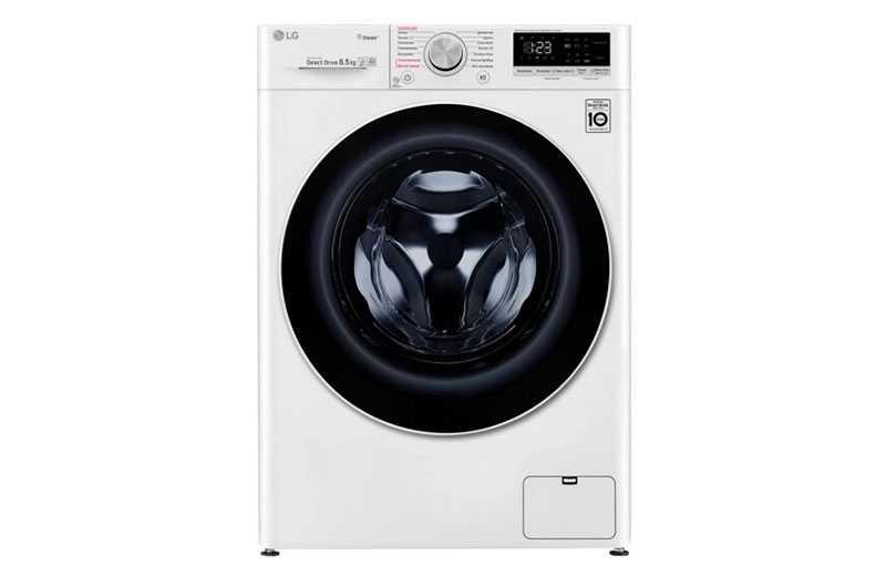 LG F-2V5GS0W: лучшая стиральная машина LG