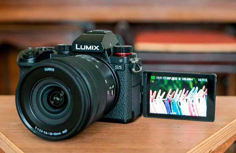 Panasonic Lumix S5 съёмка