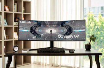 Обзор Samsung Odyssey G9 лучшего монитора для игр — Отзывы TehnObzor