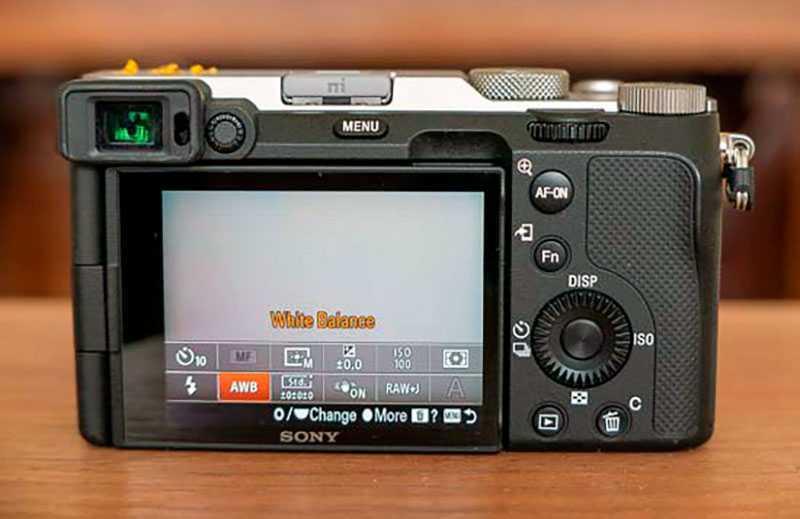 Sony a7C фокус