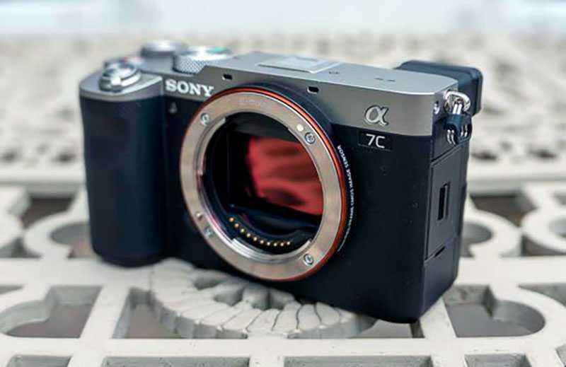 Sony a7C на практике
