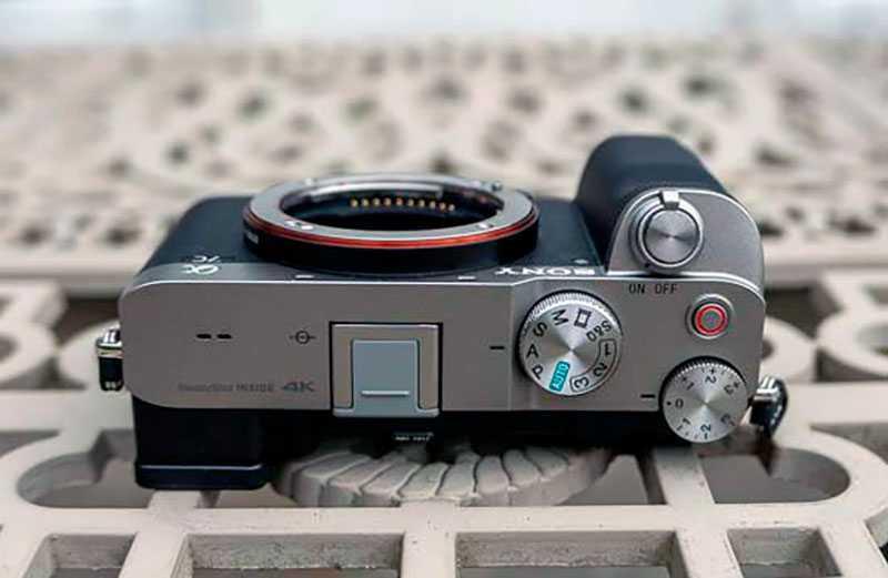 Sony a7C управление