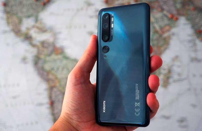Xiaomi Mi Note 10 – лучший камерофон Xiaomi