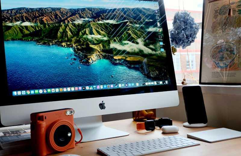 Apple iMac 27 5K (2020) конструкция