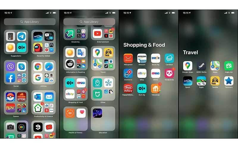 Apple iOS 14 библиотека ПО