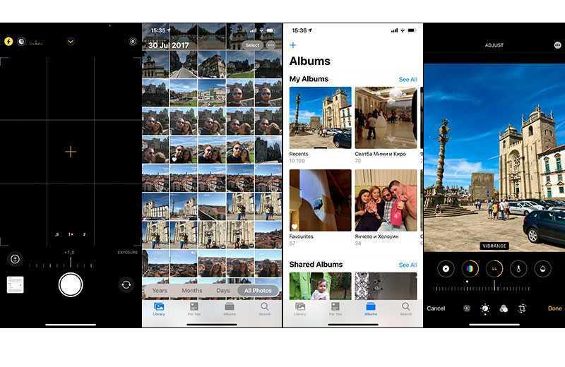 iOS 14 фотогалерея