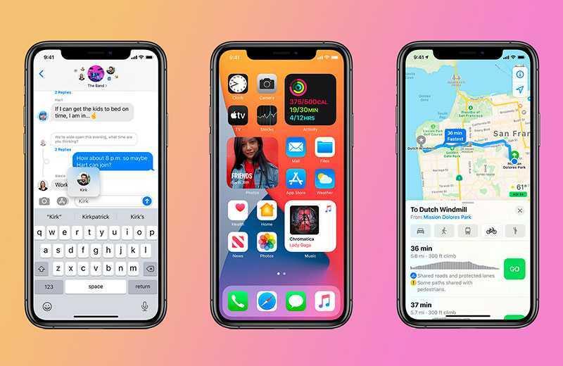 ОС iOS 14