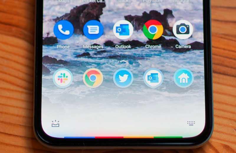 Google Pixel 5 рамки экрана