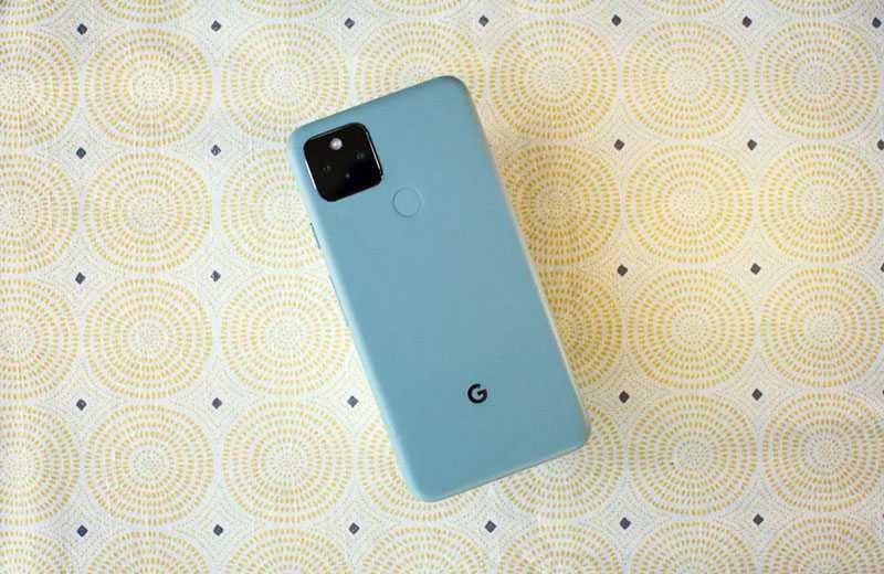 Google Pixel 5 дизайн
