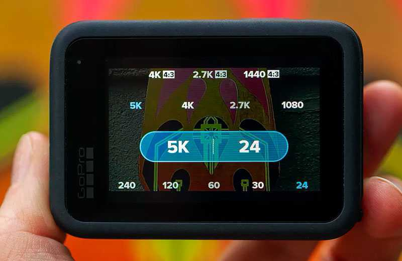 GoPro Hero 9 Black качество съёмки