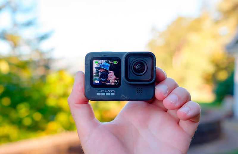 GoPro Hero 9 Black передний экран