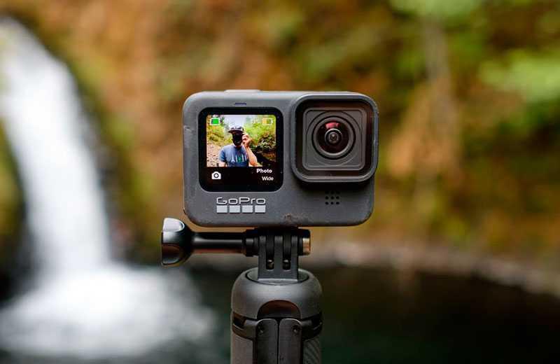 GoPro Hero 9 Black съёмка