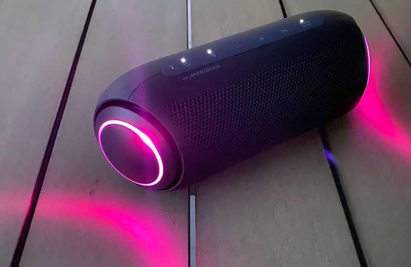 LG XBOOM Go PL7 звук