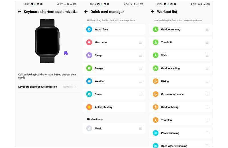 Xiaomi 70mai Saphir Watch приложение