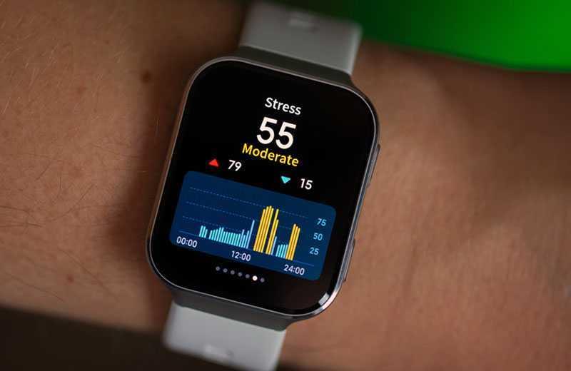 Xiaomi 70mai Saphir Watch тест