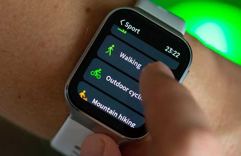 Xiaomi 70mai Saphir Watch функции