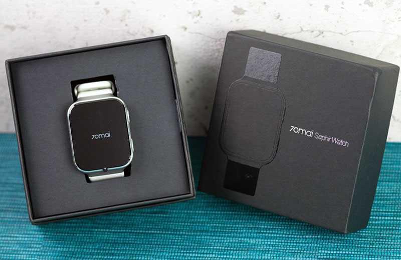 Характеристики Xiaomi 70mai Saphir Watch отзывы