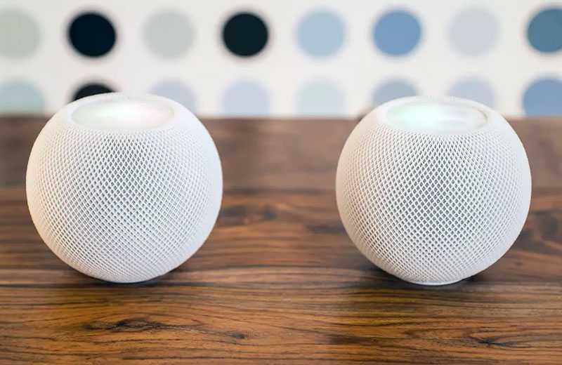 Apple HomePod Mini звук