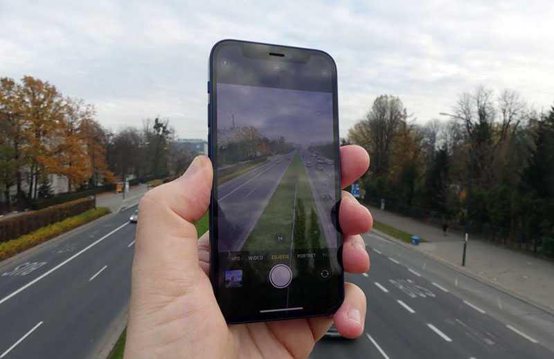Apple iPhone 12 mini съёмка