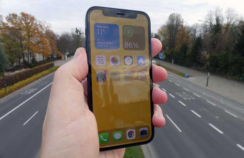 Apple iPhone 12 mini дисплей