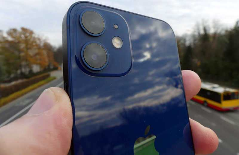 Apple iPhone 12 mini камеры