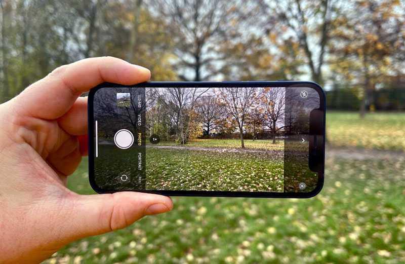 Apple iPhone 12 mini камера