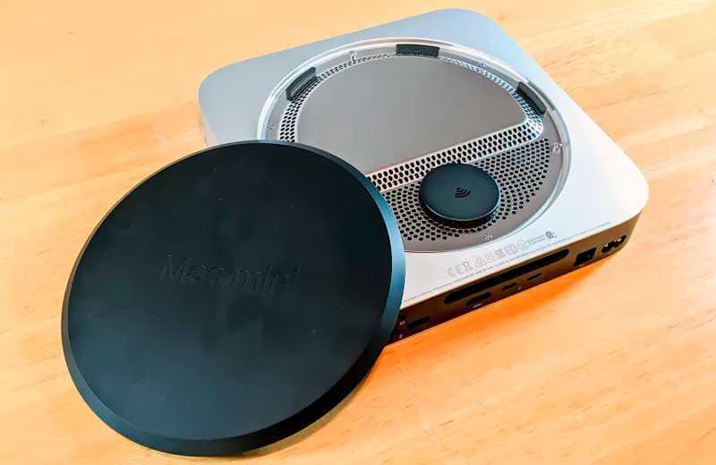 Apple Mac mini M1 (2020) охлаждение