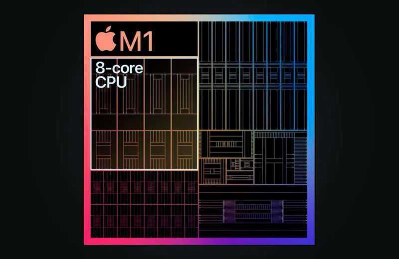 Apple Mac mini M1 (2020) процессор