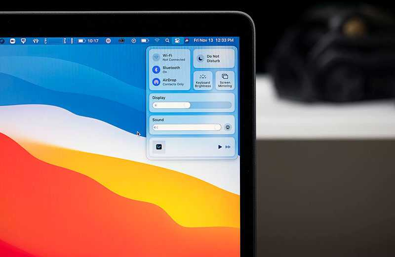 Apple MacBook Air M1 рамки экрана